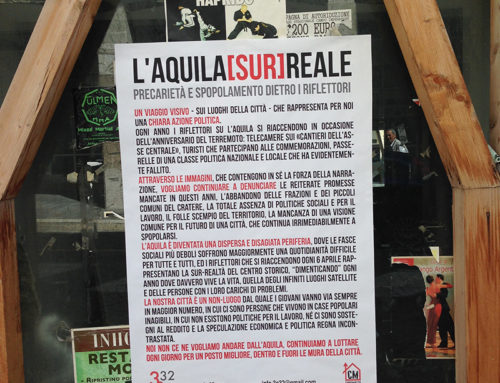 """CLIC DE """"L'AQUILA [SUR]REALE"""" NELL'IMPALATO CENTRO STORICO"""
